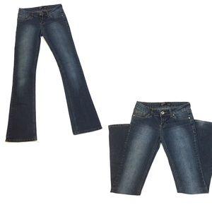 Bongo lowrise bootcut jeans Sz 3